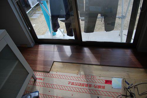 床暖房フローリング、リフォームフローリング、ラミネートフローリング「クロノテックス」KRONOTEX、ジャトバ D2282 Jatoba