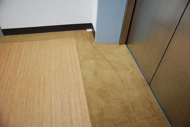 ラミネートフローリング東京オフィス改装