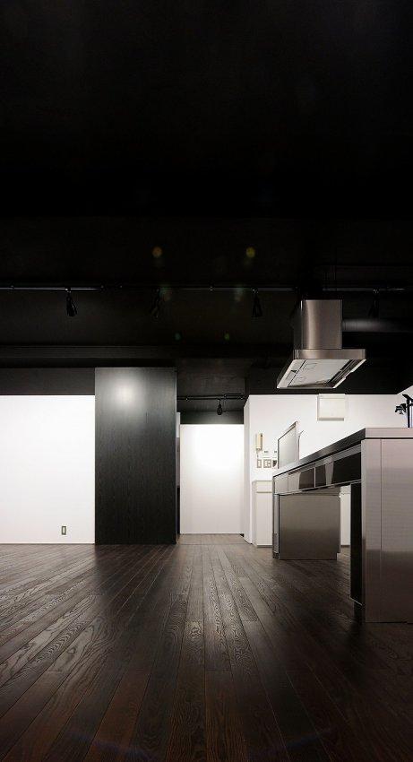 倉田裕之/建築・計画事務所 サーモアッシュ無垢フローリング 一枚もの