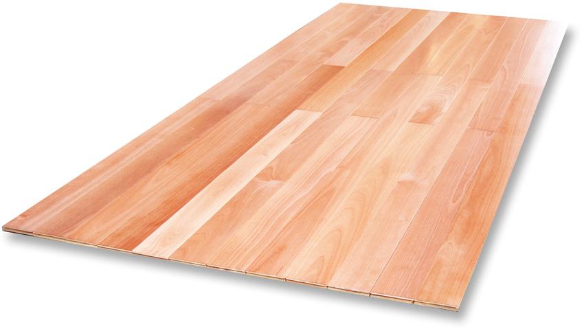 サクラ フローリング 2mm無垢仕上げ 床暖房