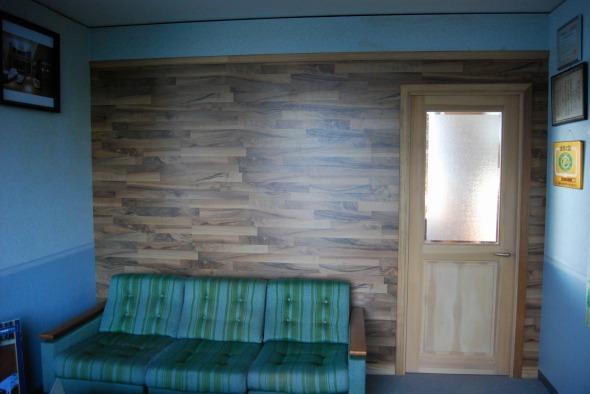 完成写真 | 床暖房フローリング、リフォームフローリング、ラミネートフローリング「クロノテックス」KRONOTEX 大利木材
