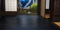 藍染杉フローリング