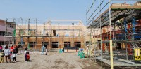 老人健康保健施設の建築