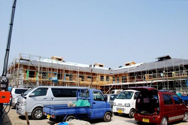 大型木造建築老人健康保険施設