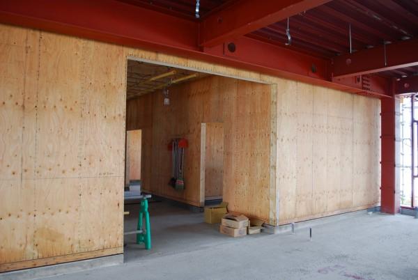 木造と鉄骨の混構造